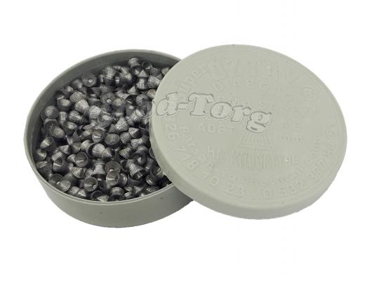 Пулька для пневматики, 4,5 мм. 250 шт. Турция