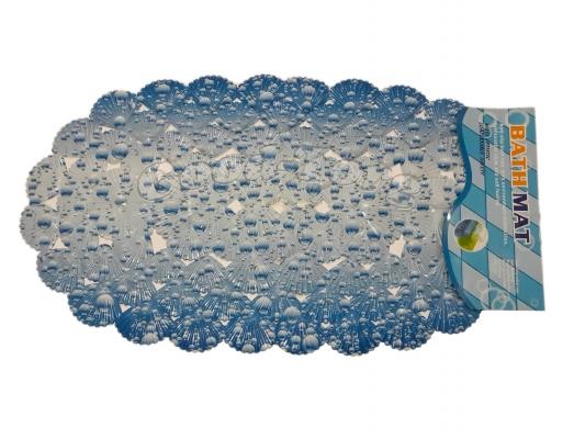 Коврик для ванны ракушки цветной с эффектом массажа