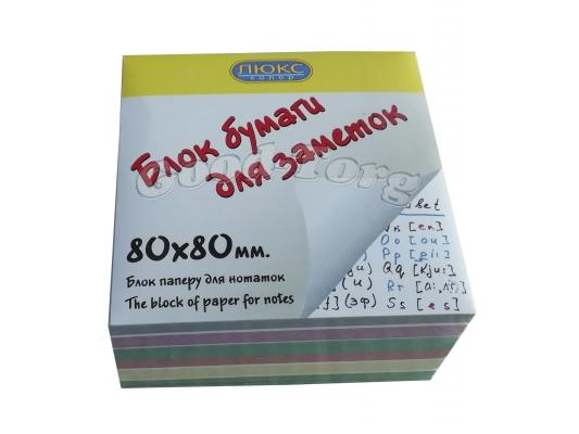 Бумага для заметок белая не клееная 80х80х4см