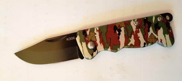 Нож перочинный на планшете К306 - 13 см.