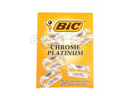 Лезвия BIC Platinum -оригинал 20 пач.×5шт. (Греция)