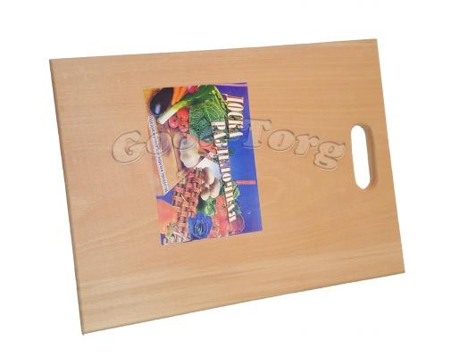 Доска деревянная для нарезки вид N2 18 см ×34см