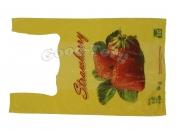 Пакет нарисовано клубника 53 × 30 см  1 уп. = 250 шт.