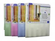 Штора для ванны N7 Однотонная цветные размер 180×180 см