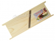 Терка корейка широкая, сосна, большая (ширина 10 см. Дл. 30 см.)