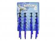 Станок одноразовый Super Max 24 шт. 3 лезвия,плав.головка,резин.ручка.