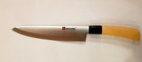 Нож широкая деревянная ручка E-10 - 33.5 см.