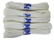 Веревка бельевая белая в пакете ф4 (15 м.) в пачке 5 шт