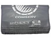 Пакеты BMW, Comserve, черный, 400*570 мм., 60 кг. 100 шт.