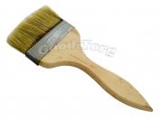 Кисть плоская, утолщенная, №80, 21*8*1.5 см., деревянная ручка. 1 пач. = 5 шт.